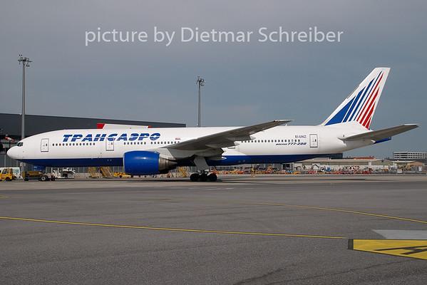 2009-05-18 EI-UNZ Boeing 777-200 Transaero