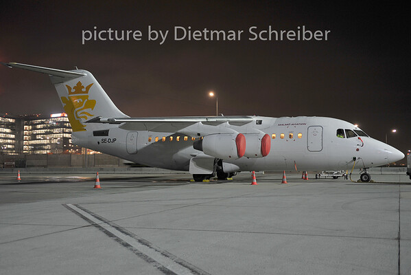 2011-12-14 SE-DJP Bae146 Malmoe Aviation