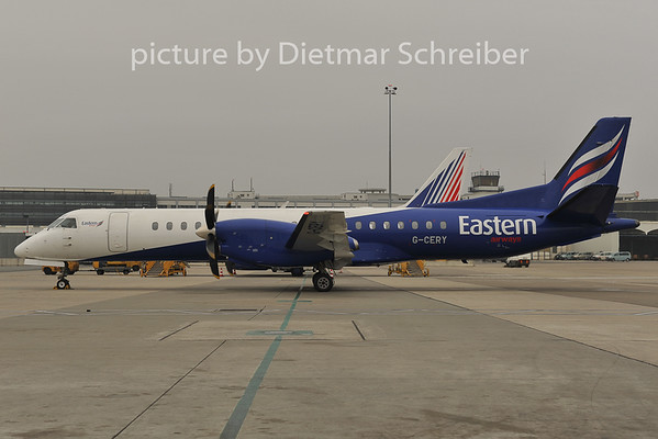 2011-11-30 G-CERY Saab 2000 Eastern AIrways