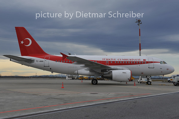 2011-12-09 TC-ANA Airbus A319 Turkish Government