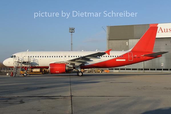 2012-12-12 OE-LBJ Airbus A320 Austrian Airlines