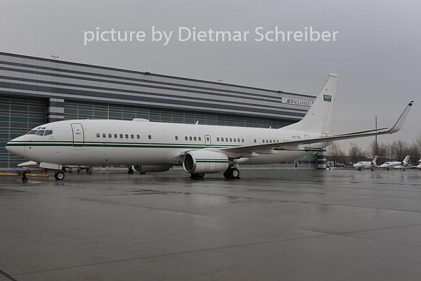 2012-12-11 HZ-102 Boeing 737-800 Saudi Arabian Government