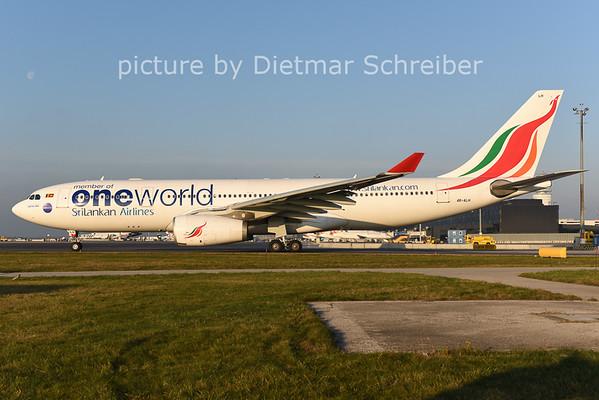 2014-12-10 4R-ALH Airbus A330-200 Srilankan