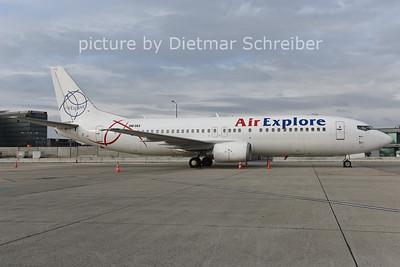 2014-12-08 OM-DEX Boeing 737-400 Air Explore