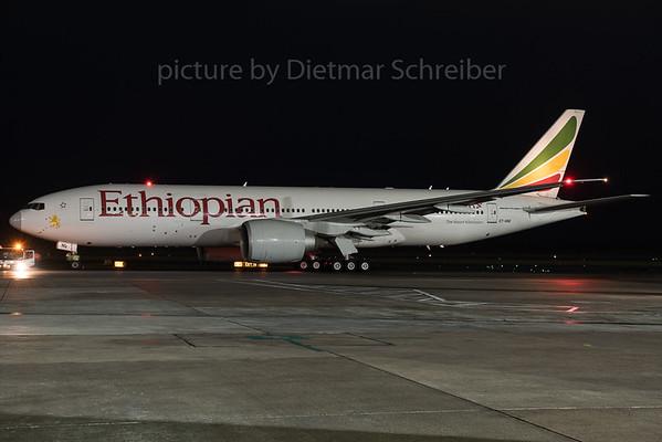 2015-12-21 ET-ANQ Boeing 777-200 Ethiopian AIrlines