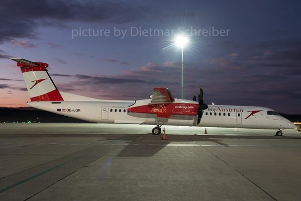 2015-12-22 OE-LGK Dash 8-400 Austrian Airlines