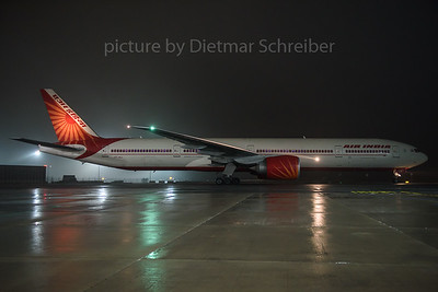 2016-12-19 VT-ALL Boeing 777-300 Air India