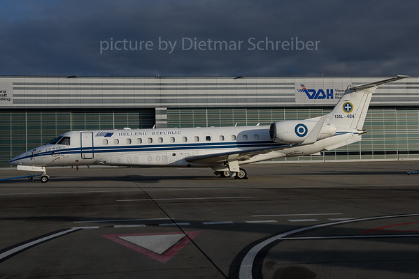 2016-12-15 135L-484 Embraer 135 Greek Government