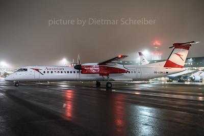 2016-12-19 OE-LGM Dash 8-400 Austrian Airlines