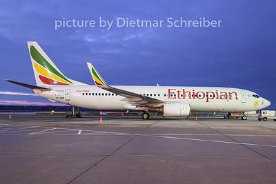 2018-12-18 ET-AQQ Boeing 737-800 Ethiopian Airlines