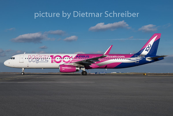 2018-12-26 HA-LTD Airbus A321 Wizzair