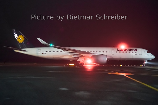 2018-12-20 D-AIXG Airbus A350-900 Lufthansa
