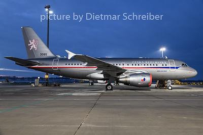 2018-12-18 3085 Airbus A319 Czech Air Force