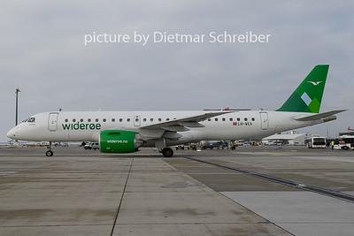 2018-12-16 LN-WEA Embraer 190E-2 Wideroe
