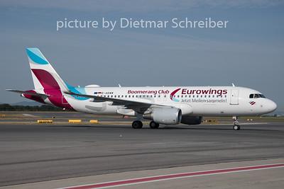2019-08-05 D-AEWM Airbus A320 Eurowings