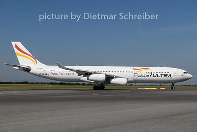2019-06-26 EC-MFB Airbus A340-300 Plus Ultra