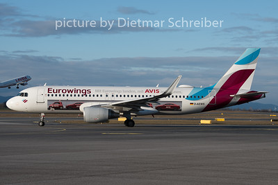2019-12-26 D-AEWM Airbus A320 Eurowings