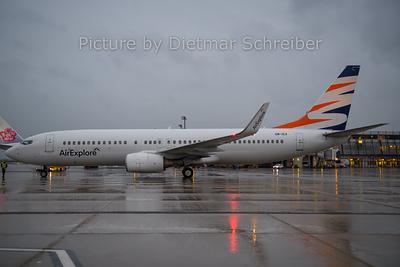 2019-12-23 OM-IEX Boeing 737-800 Air Explore