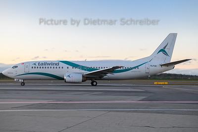 2019-12-26 TC-TLE Boeing 737-400 Tailwind