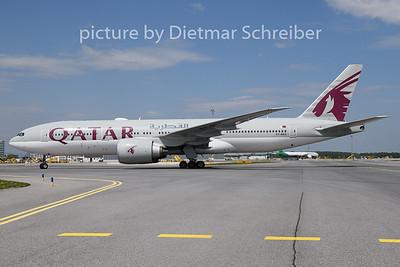 2019-05-01 A7-BBG Boeing 777-200 Qatar Airways