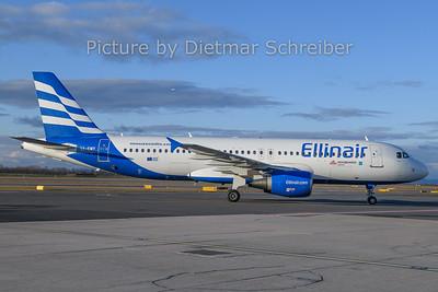 2019-12-26 SX-EMY Airbus A320 Elinair