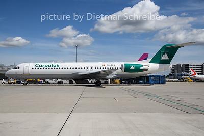 2019-08-08 YR-FZA Fokker 100 Carpatair