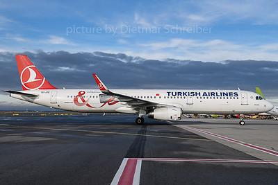 2019-11-14 TC-JTE Airbus A321 THY