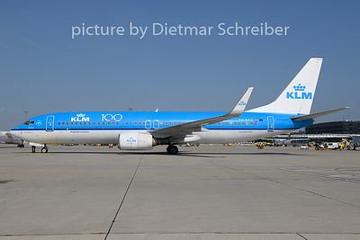 2019-07-16 PH-BXG Boeing 737-800 KLM