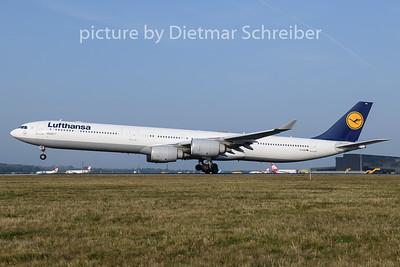 2019-08-26 D-AIHB Airbus A340-600 Lufthansa