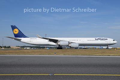2019-07-01 D-AIHC Airbus A340-600 Lufthansa