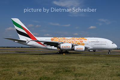 2019-07-17 A6-EUO Airbus A380 Emirates