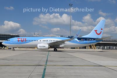 2019-06-24 OO-JEF Boeing 737-800 Tui Fly Belgium