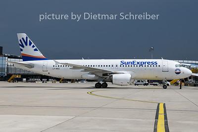 2019-06-13 LY-NVZ Airbus A320 Sunexpress