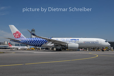 2019-06-24 B-18918 Airbus A350-900 China Airlines