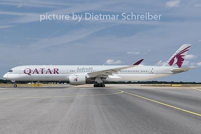 2019-08-20 A7-ANF Airbus A350-1000 Qatar Airways