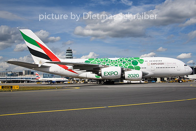2019-08-08 A6-EEZ Airbus A380 Emirates