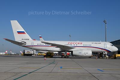 2019-07-25 RA-64058 Tupolev 204 Russian Government