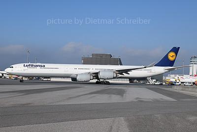 2019-10-15 D-AIHZ Airbus A340-600 Lufthansa