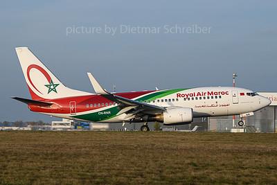 2019-11-01 CN-RNR Boeing 737-700 Royal Air Maroc