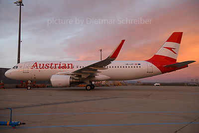 2019-11-19 OE-LZF Airbus A320 Austrian Airlines