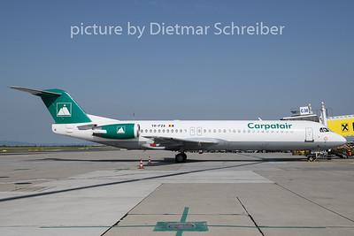2019-06-13 YR-FZA Fokker 100 Carpatair
