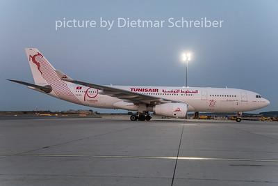 2019-08-04 TS-IFN AIrbus A330-200 Tunis AIr