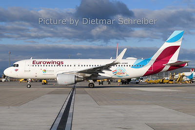 2019-12-26 D-AEWK AIrbus A320 Eurowings