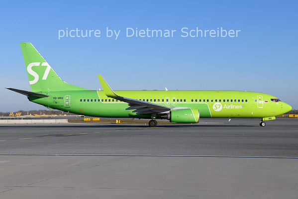 2020-12-27 VQ-BRQ Boeing 737-800 S7 Airlines