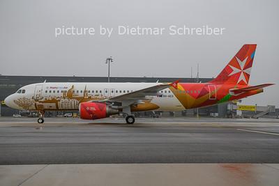 2021-01-04 9H-AEO Airbus A320 Malta Med AIr