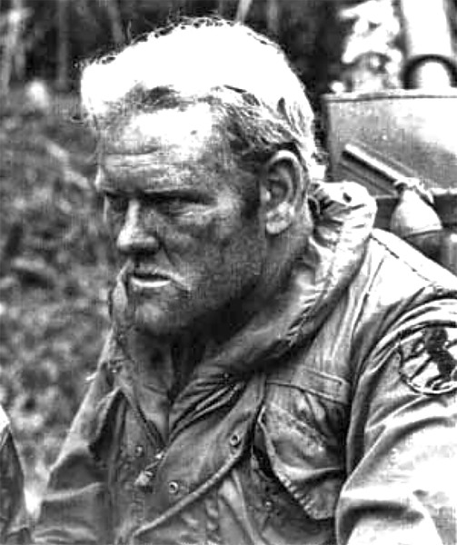 A true, field-hardened 11th ACR trooper during the Cambodian assault in 1970.  This brave man has been identified by his family members!  He is Leon Lester Woodruff of Tulsa, Oklahoma. He left us in late 2016 .  May God bless his memory for his contributions to our country! Photo:  Tom Rosini.