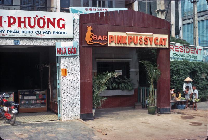 GI hangout, Saigon.  © 1971, MJ Roche.