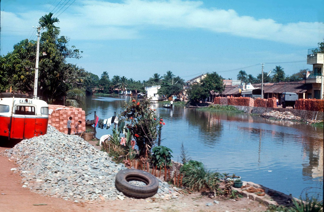 A masonry plant outside of Saigon, 1971.