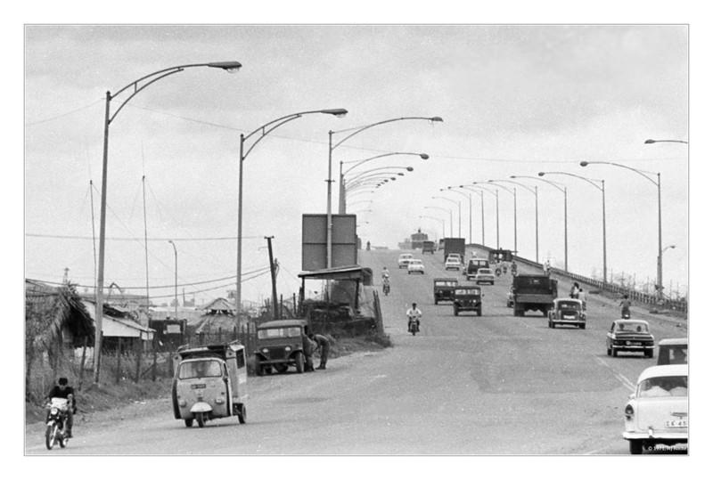 Bridge between Di An and Saigon. © 1970, MJ Roche.