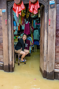 Business as Usual, Monsoon be Damned, Hoi An, Viet Nam